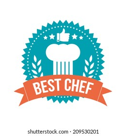 Simple Best Chef Banner Tag