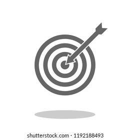 Simple black target. Made with inkscape