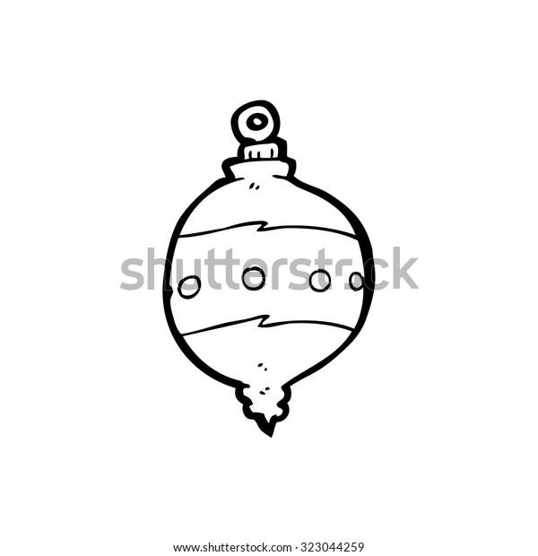 Simple Black White Line Drawing Cartoon Stock Vector