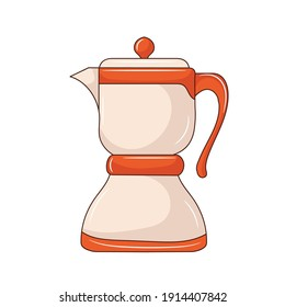 Simple Blender colored vector illustration. isolated with hand drawn style