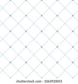 Simple blue diamond square dat line with tiny squre