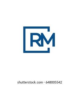 rm logo design images stock photos vectors shutterstock https www shutterstock com image vector simple blue rm initial logo designs 648005542