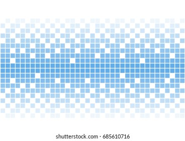 simple blue squares vector background