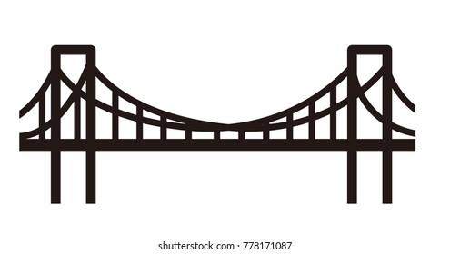 simple bridge illustration