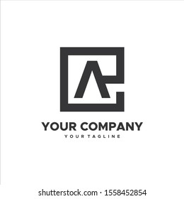 simple and brilliant Initial EA, AE logo template, business and web logos