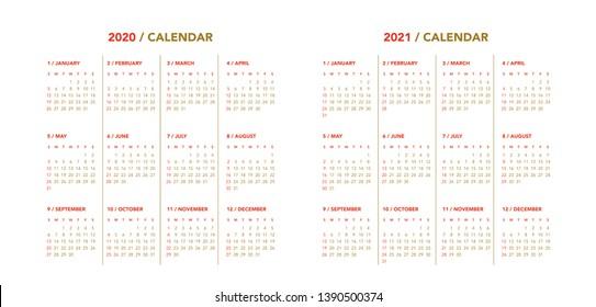 Layout Calendario 2020.Calendario 2020 Images Stock Photos Vectors Shutterstock