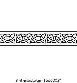 Simple Celtic Border