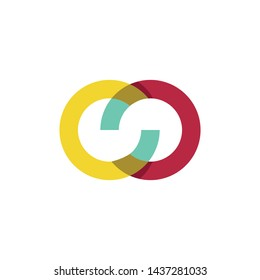 simple, clean, elegant, modern and sophisticated logo design illustration inspiration with infinity, initial O and S for technology, digital, computer, photography, finance, accounting, etc