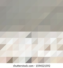 Simple colorful triangle vector background