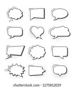 Simple Comic Speech Bubble