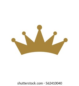 realistic crown icon stock vector royalty free 1145104949