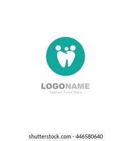 Simple dental logo
