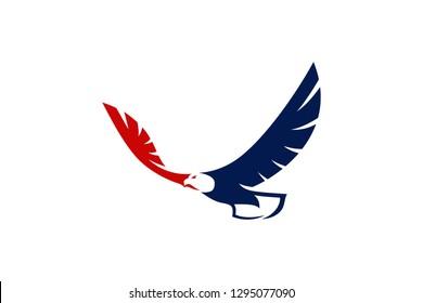 Simple Design of Bald Eagle