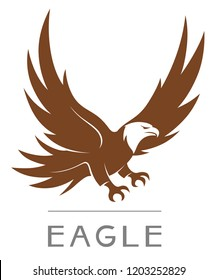 Simple eagle illustration