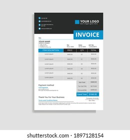 Simple and Elegant Business Invoice Template