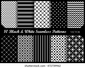 Simple and elegant pattern collection. Web background set