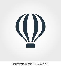 Simple element illustration. Air Ballon concept symbol design from transport collection. Can be used for web, mobile and print. web design, apps, software, print.