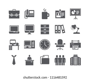 Simple flat high quality vector icon set,Business basic icon,Business Meeting, Workplace, Office Building, Reception Desk and more. .48x48 Pixel Perfect.
