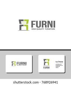 simple furni logo