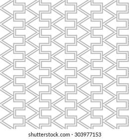 Simple geometric arrow seamless pattern.