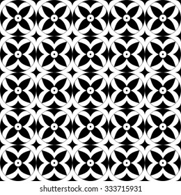 Simple geometric pattern. Seamless vector.