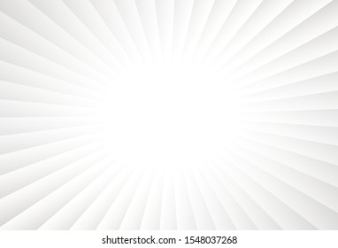 Simple gradient line on light background resembling rays effect. Suitable for backdrop of promotional items like web banner, poster, flyer, brochure and business card.