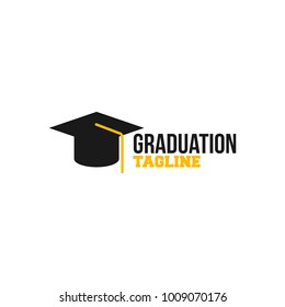 Simple Gradutation Logo