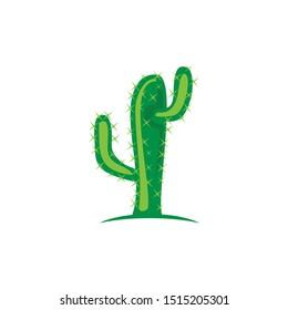simple green cactus clip art