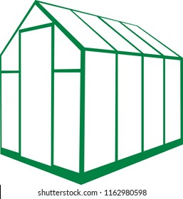 simple green greenhouse