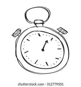 Groovy Drawing Stop Watch Images Stock Photos Vectors Shutterstock Wiring Database Ittabxeroyuccorg