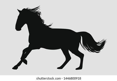 Unicorn Silhouette Images, Stock Photos & Vectors | Shutterstock