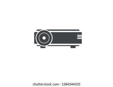 simple icon of LCD projector
