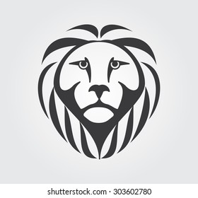 Simple Icon: Lion Head