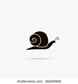 Simple icon snails.