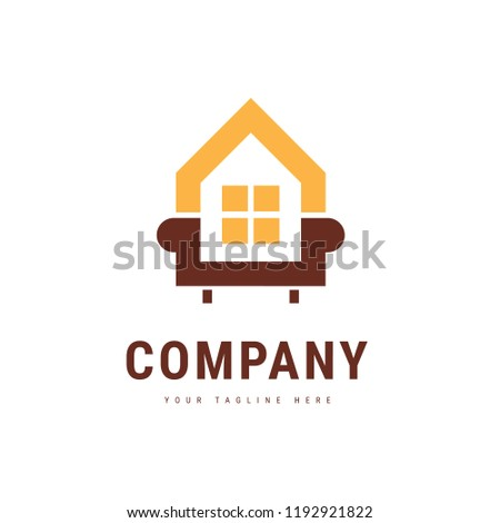 Simple Iconic Design Concept Home Decor Stock Vector Royalty Free