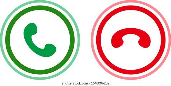 Simple illustration of telephone handset