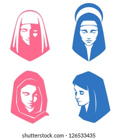 simple illustrations of spiritual women