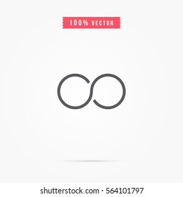 simple infinity symbol