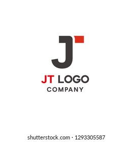 Simple J and T Logo