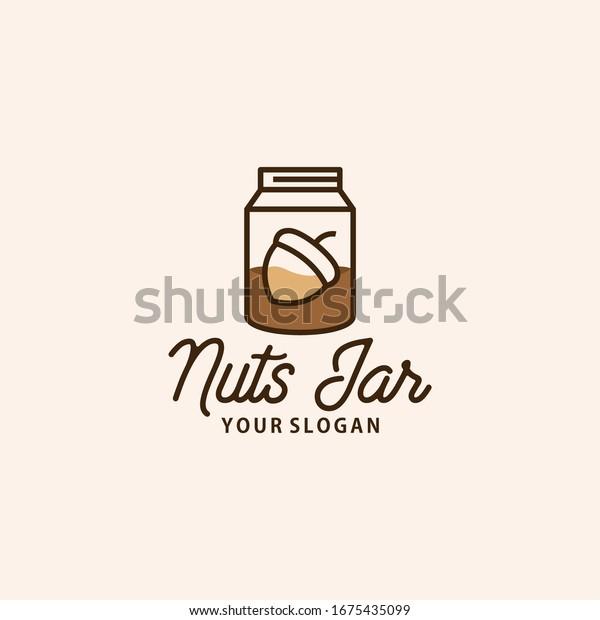 simple jar logo design vector 600w 1675435099