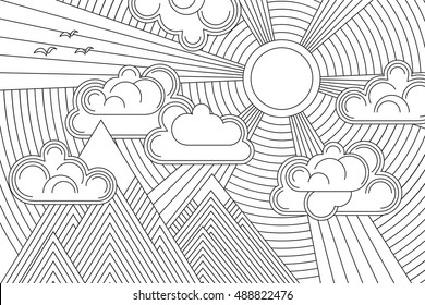 Simple Line Drawing Images Stock Photos Vectors Shutterstock