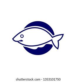 simple logo fish