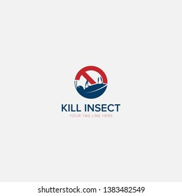 Simple Logo for Insect Killer Modern Logo Designs