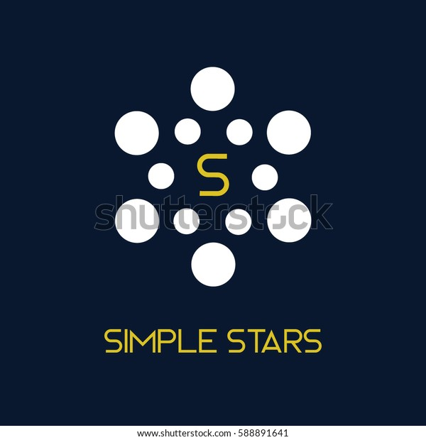 Simple logo vector for science or technology company