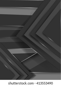 simple material background in grey colors, with shadows