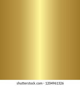 Simple metallic gold gradient texture in square illustration in vector.