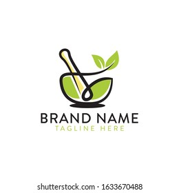 a simple and nature mortar logo for any business.