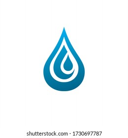 simple and neat is perfect for mineral water company logos