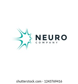 Simple neuro logo design inspiration