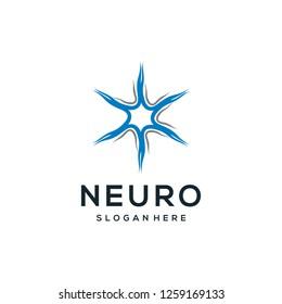 Simple neuro logo design inspiration